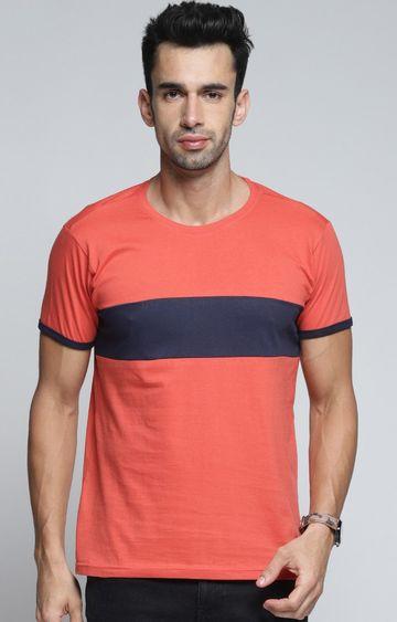Dillinger | Coral Colourblock T-Shirt