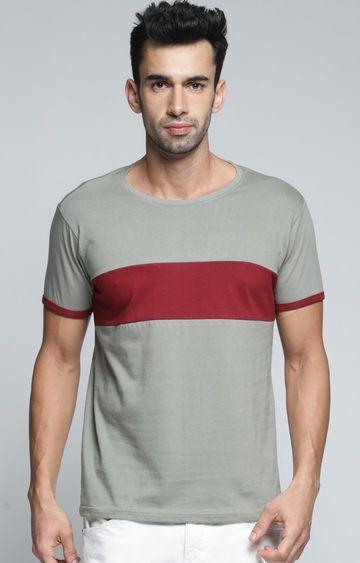 Dillinger | Grey Colourblock T-Shirt