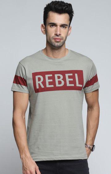 Dillinger | Grey Printed T-Shirt