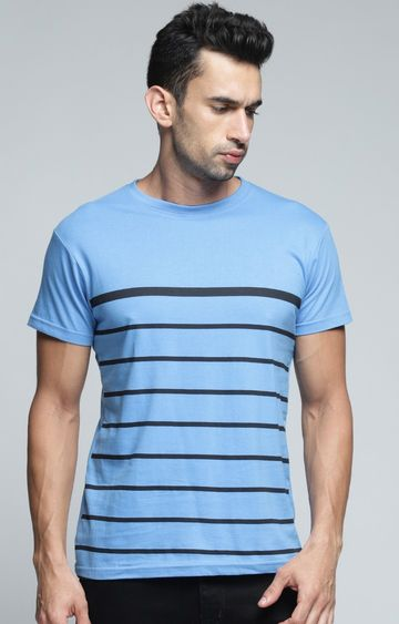 Dillinger | Blue Striped T-Shirt
