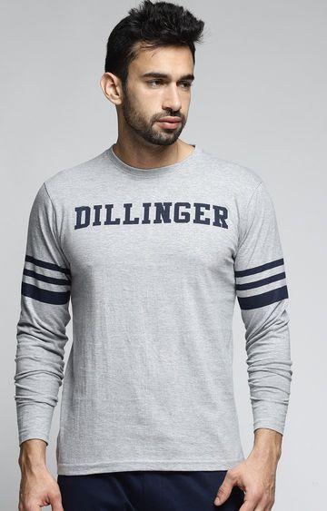 Dillinger | Grey Melange T-Shirt
