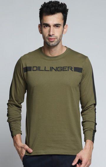 Dillinger | Olive Printed T-Shirt