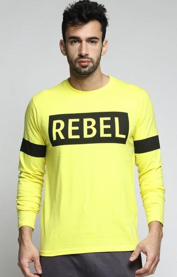 Dillinger | Light Yellow Printed T-Shirt