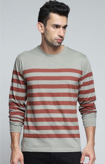 Dillinger | Grey Striped T-Shirt
