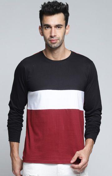 Dillinger | Black and White Colourblock T-Shirt