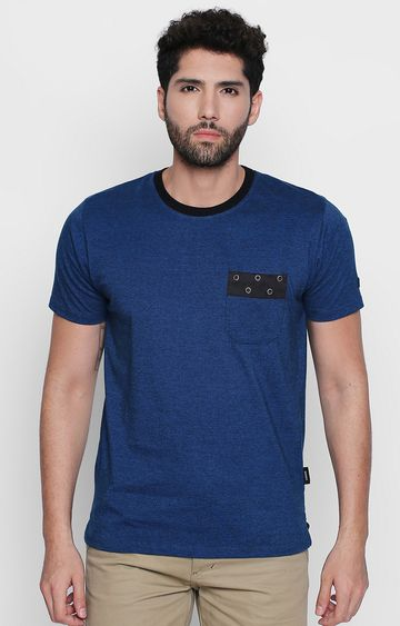 DISRUPT | Blue Striped T-Shirt