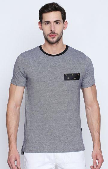 DISRUPT | Grey Melange T-Shirt