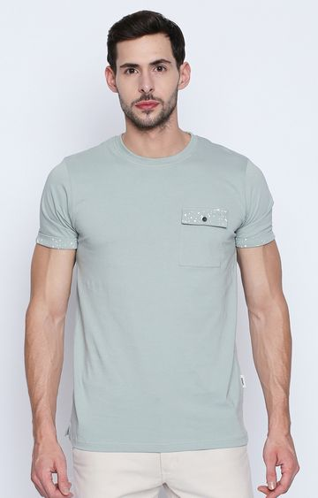 DISRUPT | Mint Solid T-Shirt