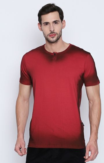DISRUPT | Red Solid T-Shirt