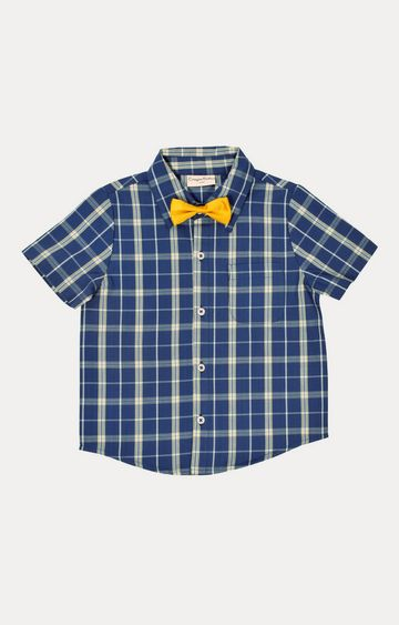 Crayonflakes | Royal Blue Checked Shirt