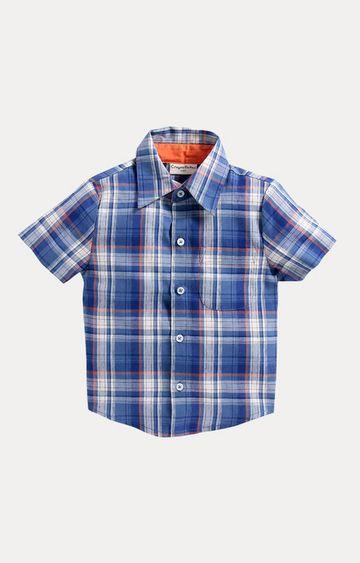Crayonflakes | Blue Checked Shirt