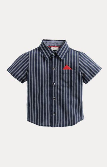 Crayonflakes | Navy Striped Shirt
