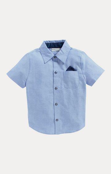 Crayonflakes | Blue Solid Shirt