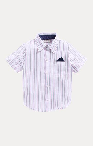 Crayonflakes | Pink Striped Shirt