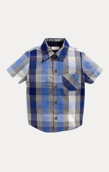 Crayonflakes | Blue Checked Shirt