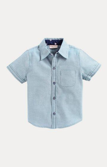 Crayonflakes | Blue Melange Shirt