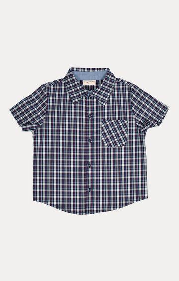 Crayonflakes | Navy Checked Shirt