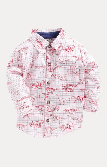 Crayonflakes | Red Printed Shirt
