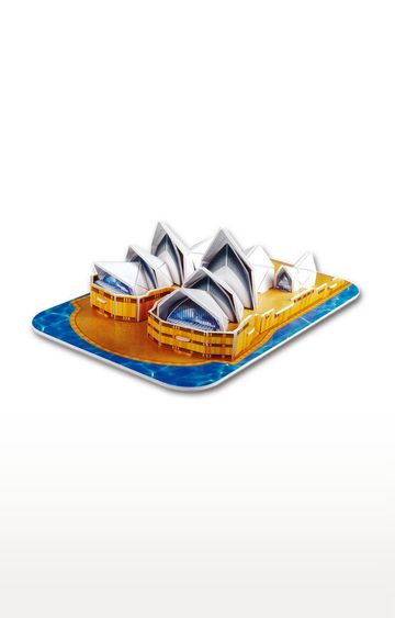 Beados | Cubic Fun 3D Puzzle - Sydney Opera House