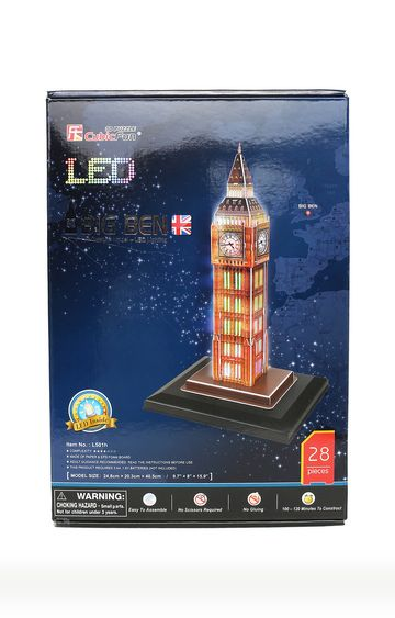 Beados | Big Ben Tower Puzzle