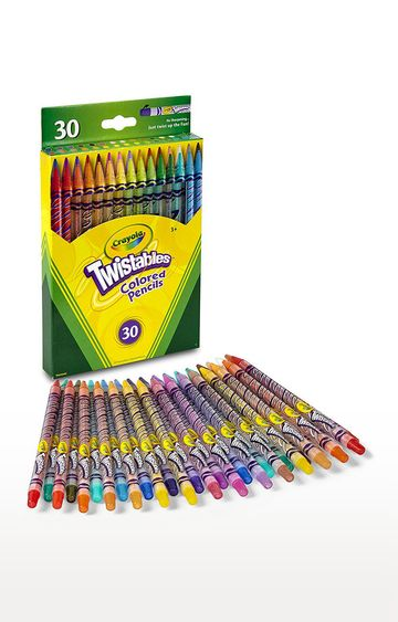 Beados | Crayola 30 Count Twistable Colored Pencils