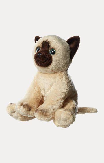 Hamleys   Beige Floppy Siamese Cat