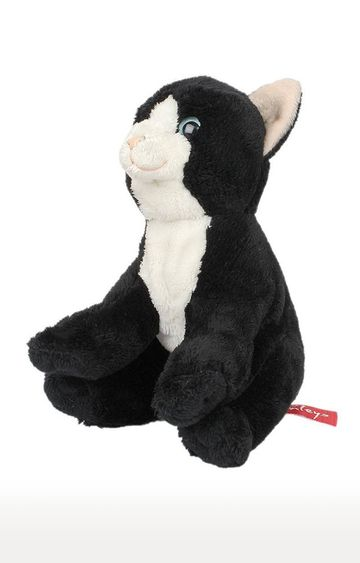 Beados | Black and White Pet Cat with Beans Plush Soft Toy