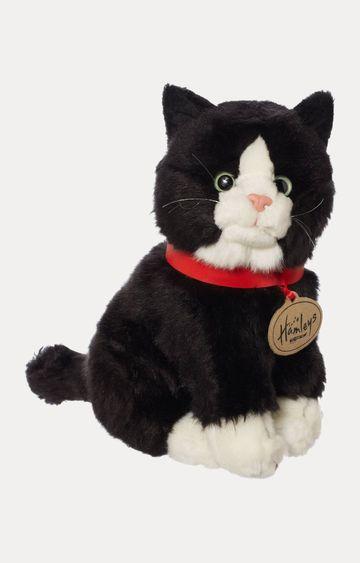 Hamleys   Black Sitting Cat Toy