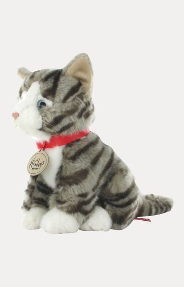 Hamleys | Sitting Grey Tabby Cat