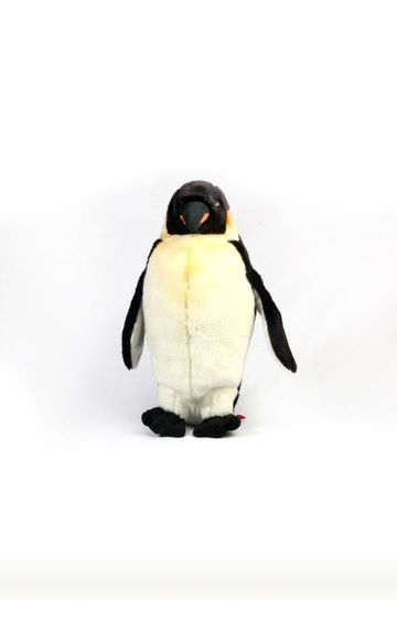 Hamleys   Black and White Standing Penguin Soft Toy