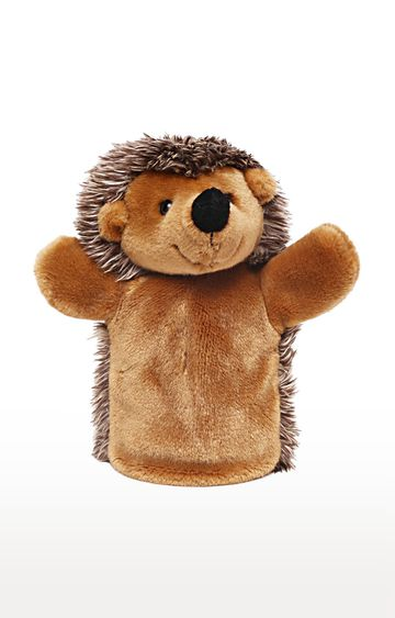 Hamleys | Brown Handpuppet Hedgehog