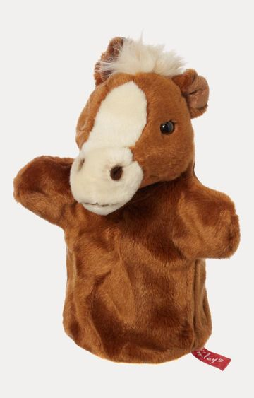 Beados | Brown Horse Hand Puppet