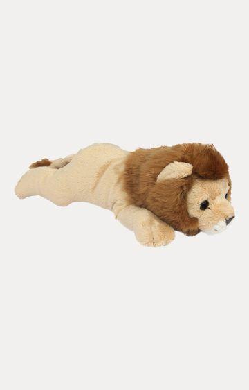 Hamleys   Beige Lying Animal Lion