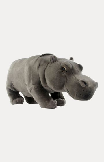Beados | Grey Hippo Soft Toy