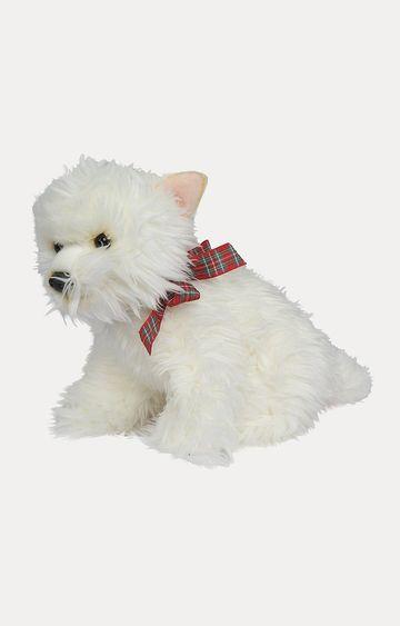 Beados | White Dog Soft Toy