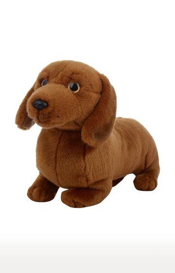 Hamleys | Brown Daschund Soft Toy