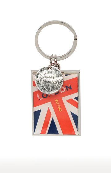 Hamleys | Multicoloured Epoxy Keyring with Met