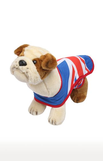 Beados   Plush Bulldog Soft Toy