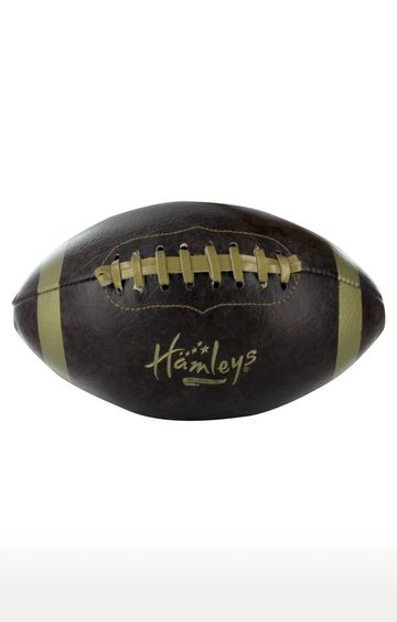 Hamleys | Speed Up Brown and Gold Retro American Ball