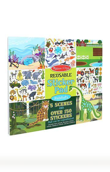 Hamleys | Animal Habitats Reusable Sticker Pad