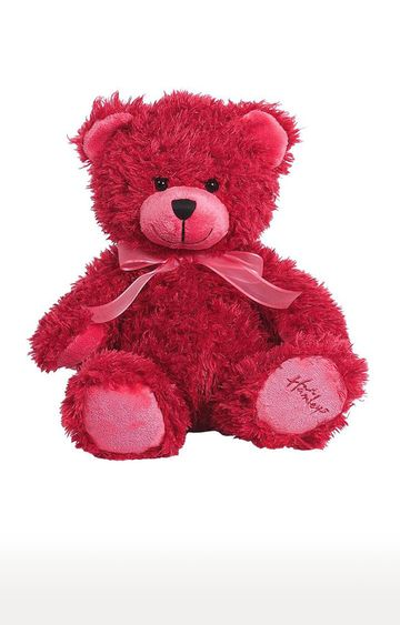 Beados | Raspberry Teddy Bear Soft Toy