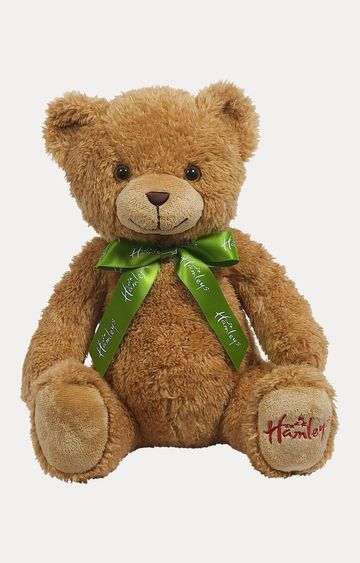 Hamleys | Brown Macaroon Teddy Bear Soft Toy
