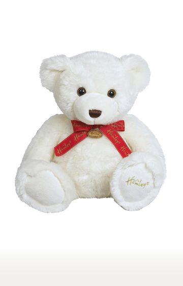 Beados | White Marzipan Bear Soft Toy