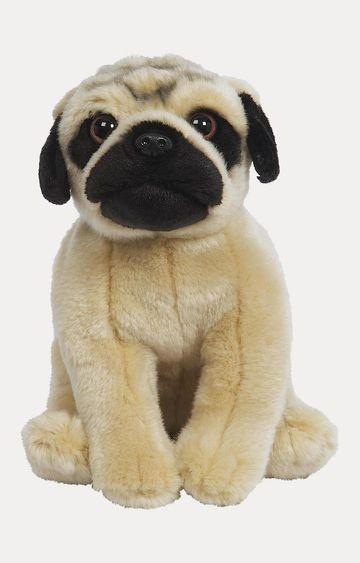 Hamleys   Beige Pug Soft Toy