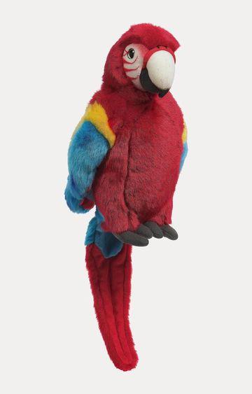 Hamleys | Poppy Red Parrot Soft Toy