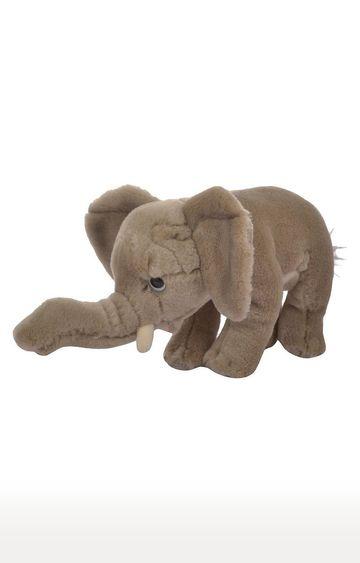 Hamleys   Grey Baby Elephant Soft Toy
