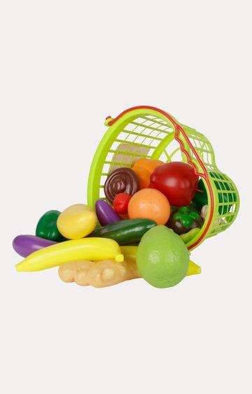 Hamleys | Comdaq Heart Shaped Vegetable Basket Playset