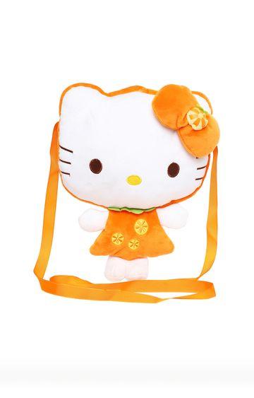 Beados | Orange Hello Kitty Shoulder Plush Bag