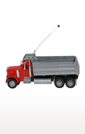 Beados | Newray 1 - 32 Plastic Remote Control Peterbilt 379 Dump Truck with Try Me Sounds