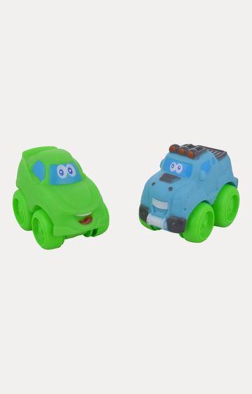 Beados | Comdaq Free Wheel Bus and Trucks - Set of 2